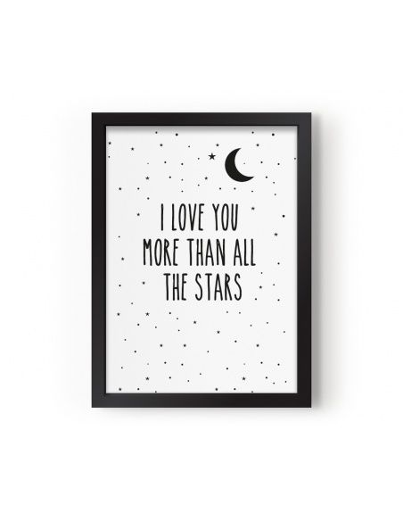 Eef Lillemor Poster I Love You More Than All The Stars