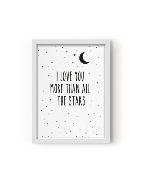 Eef Lillemor - Poster I Love You More Than All The Stars - 2