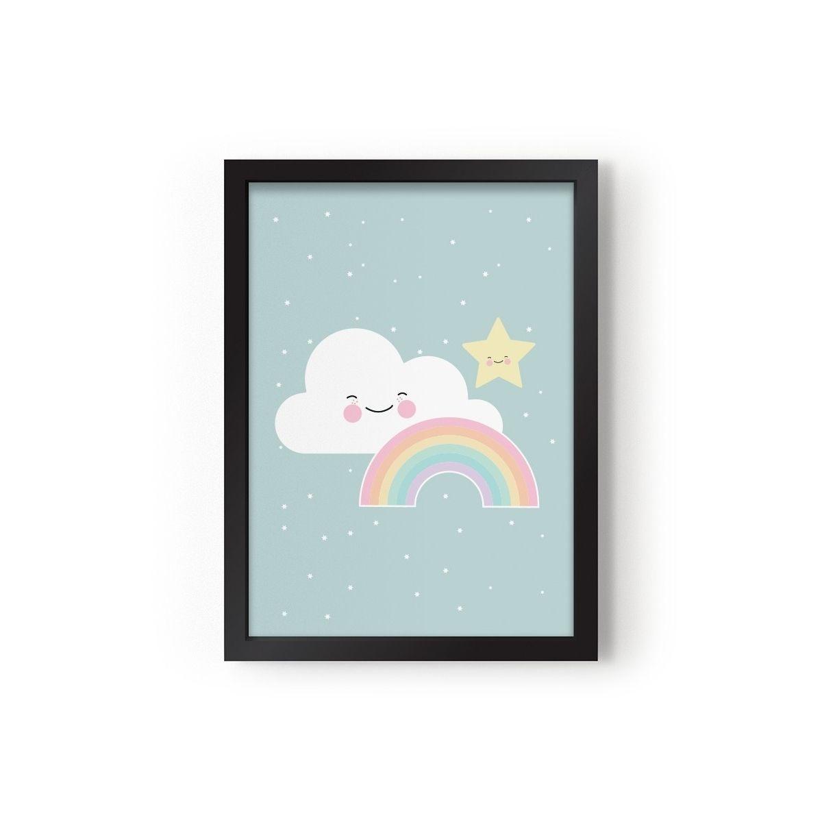 Plakat Rainbow - Eef Lillemor