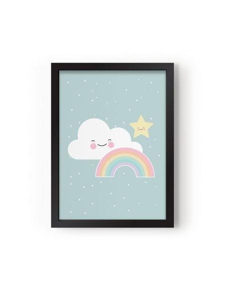 Eef Lillemor Poster Rainbow