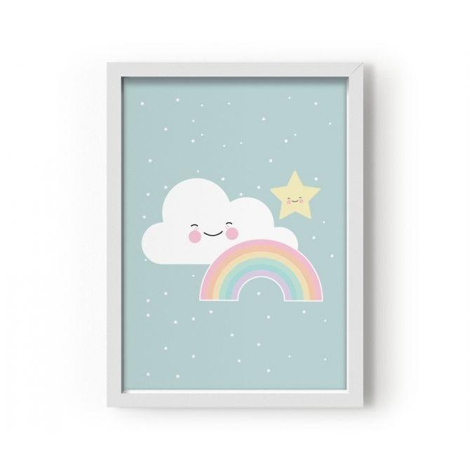 Poster Rainbow - Eef Lillemor