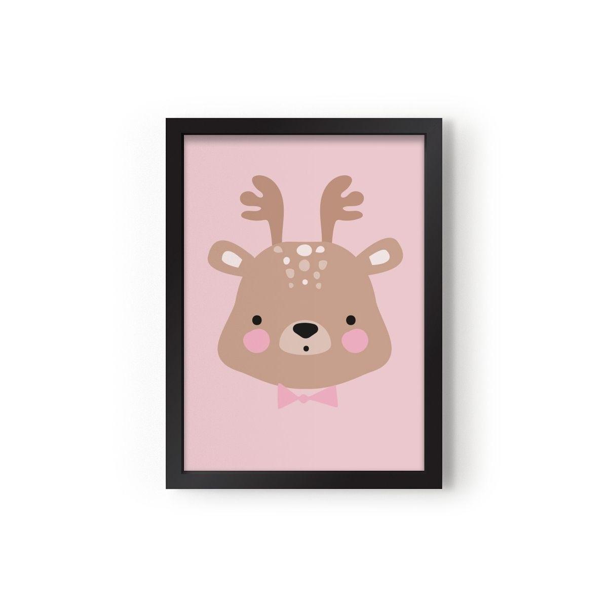 Plakat Ms. Deer - Eef Lillemor