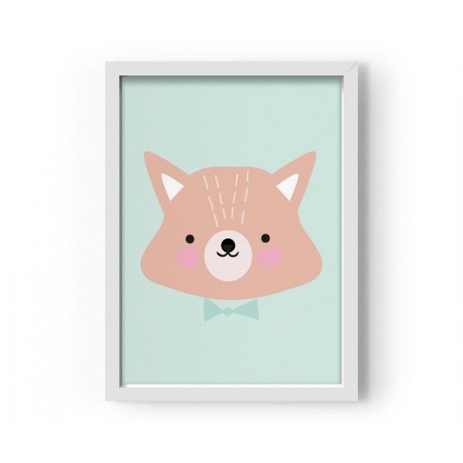 Poster Mr. Fox - Eef Lillemor
