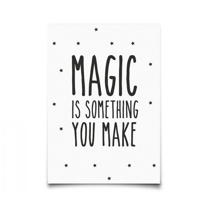 Postcard Magic Is Something You Make - Eef Lillemor