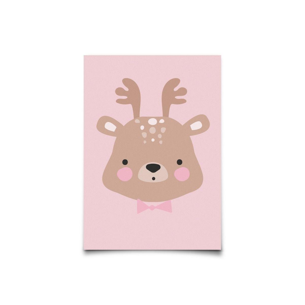 Kartka Forrest Animals Ms. Deer - Eef Lillemor