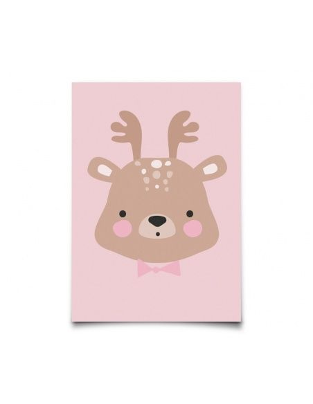 Eef Lillemor - Postcard Forrest Animals Ms. Deer - 1