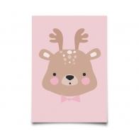 Kartka Forrest Animals Ms. Deer