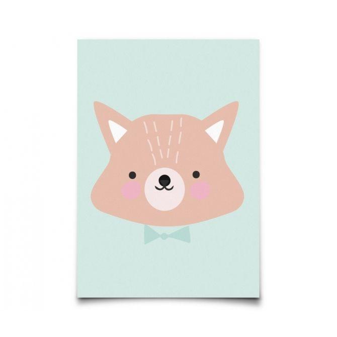 Kartka Forrest Animals Mr. Fox - Eef Lillemor