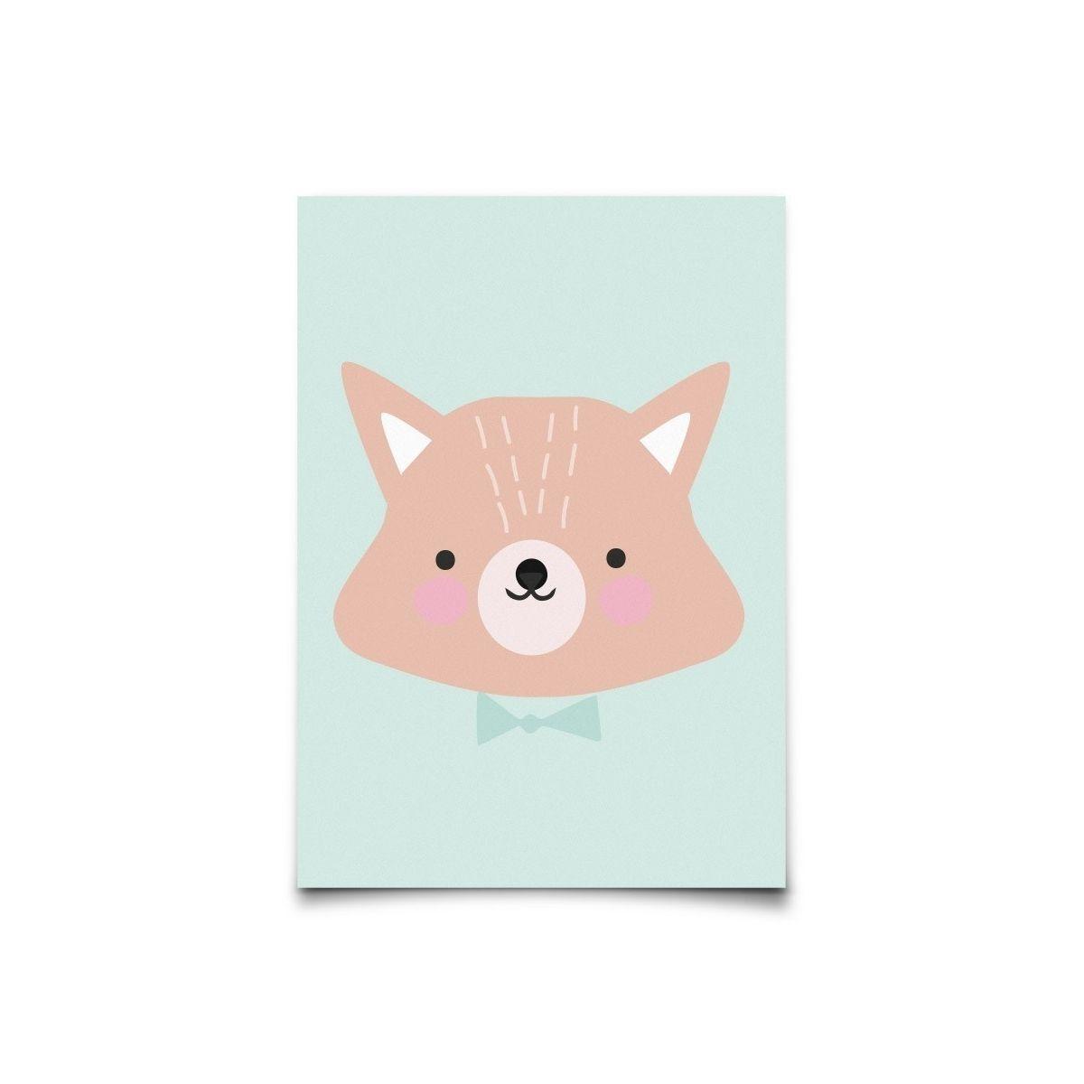 Eef Lillemor - Postcard Forrest Animals Mr. Fox - 1