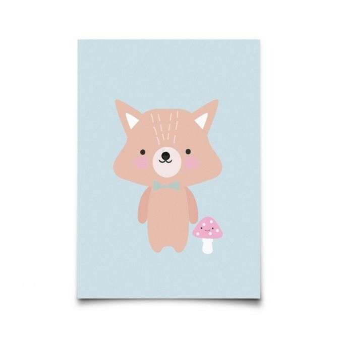 Kartka Baby Animals Fox - Eef Lillemor