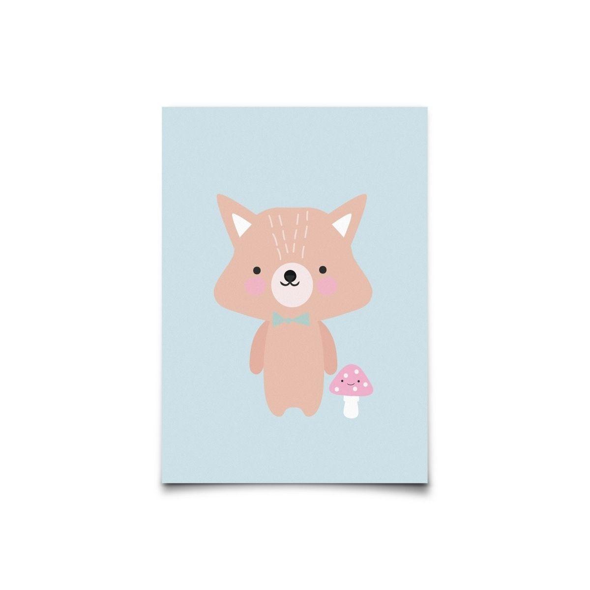 Eef Lillemor - Postcard Baby Animals Fox - 1