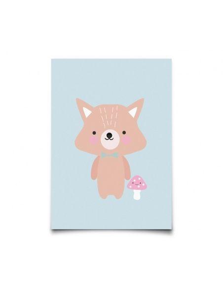 Eef Lillemor - Kartka Baby Animals Fox - 1