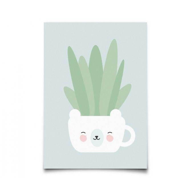 Kartka Botanics Aloe Vera - Eef Lillemor
