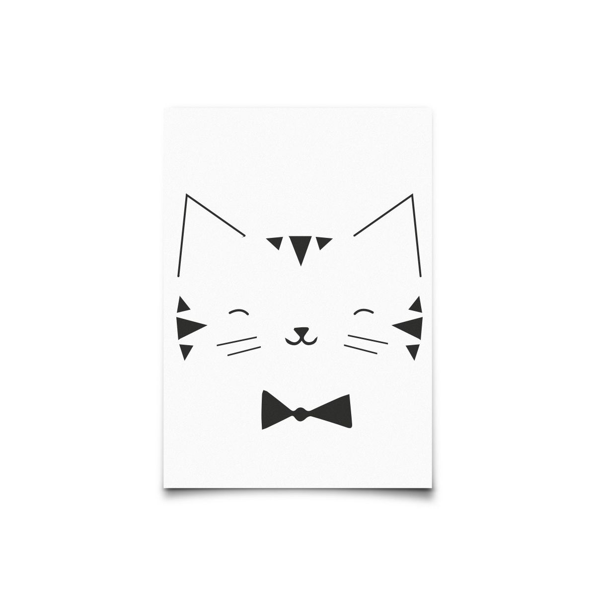 Eef Lillemor - Postcard Monochrome Animals Cat - 1