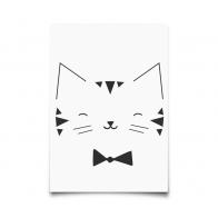 Kartka Monochrome Animals Cat