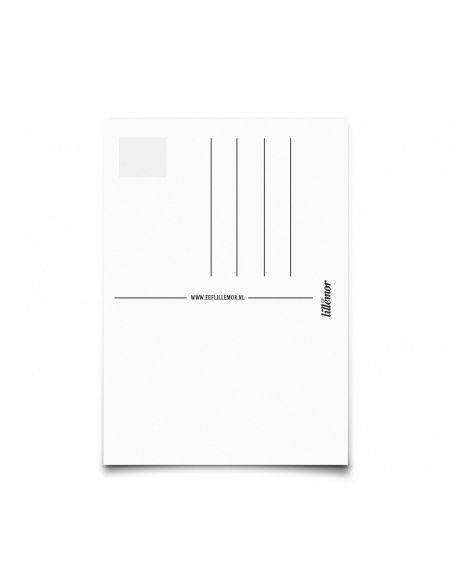 Eef Lillemor - Postcard Monochrome Animals Rabbit - 2