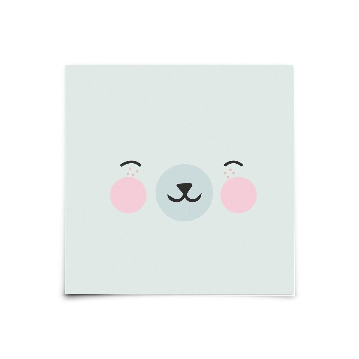 Eef Lillemor - Postcard Animal Faces Polar - 1