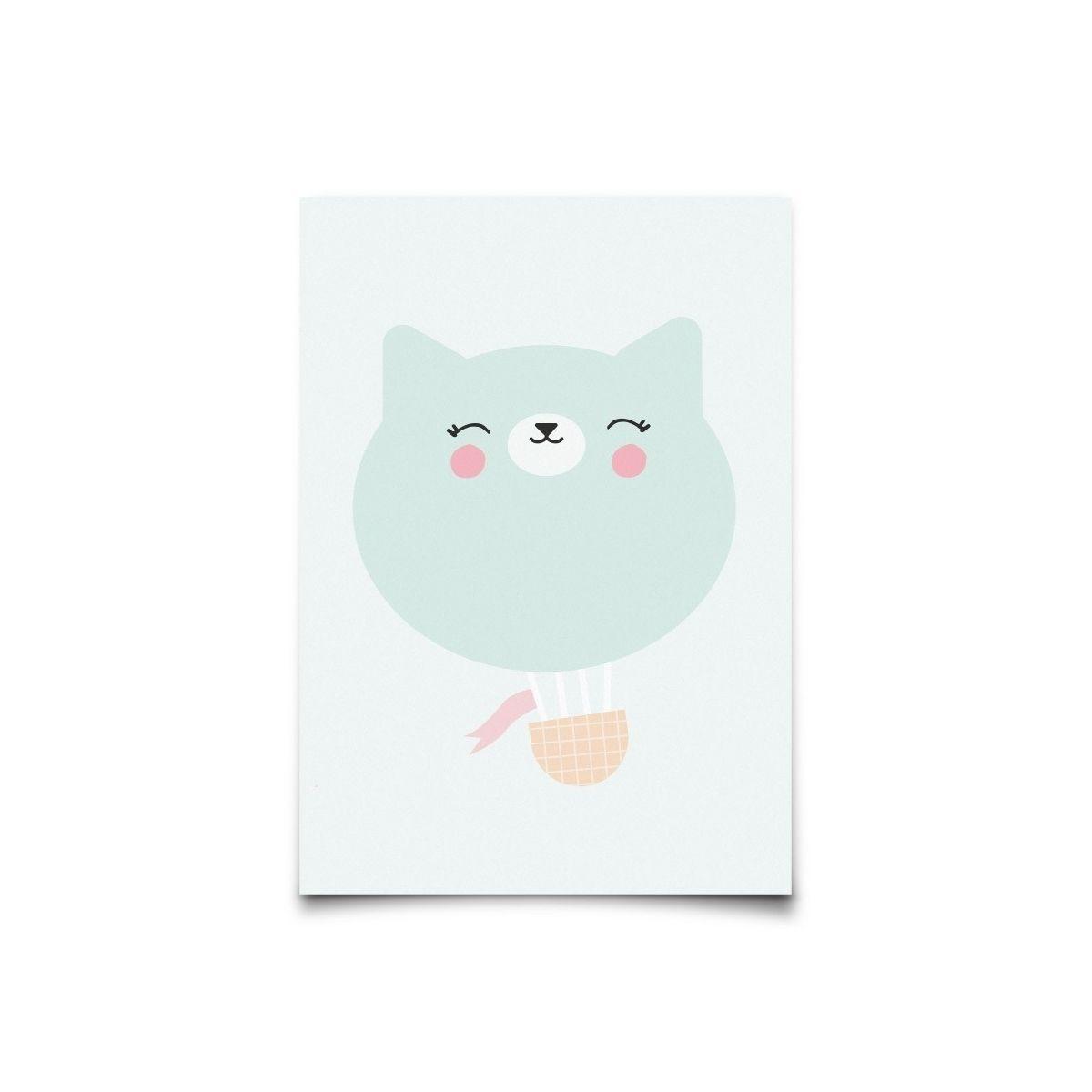 Eef Lillemor - Postcard Air Travellers Kitty - 1