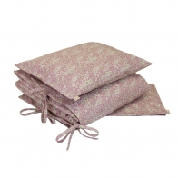 Duvet Cover Set Lily pink/cream