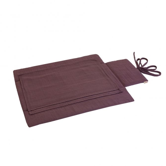 Travel Changing Pad prune - Numero 74