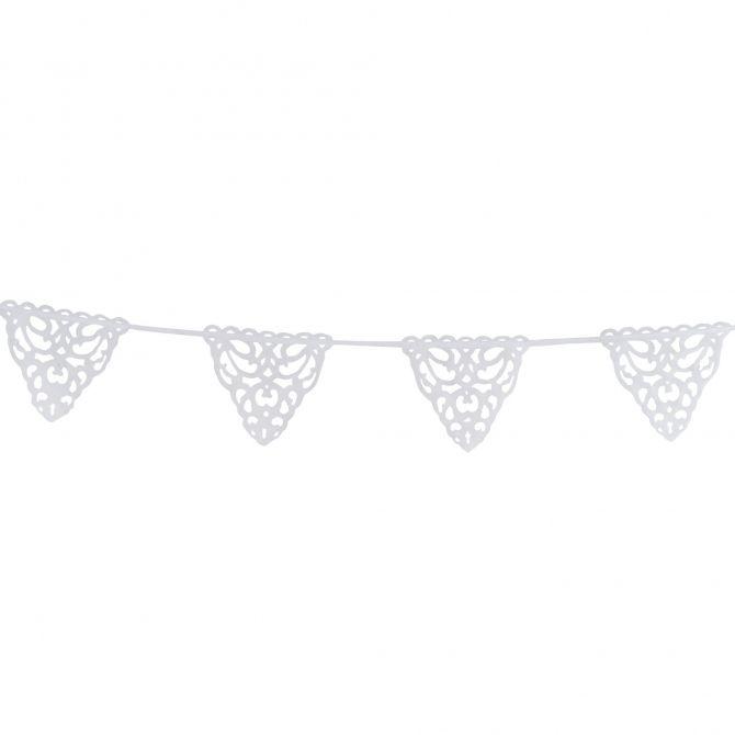 Girlanda Lanna biała Numero 74 Home & Design