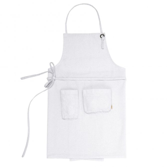 Apron Adult white - Numero 74