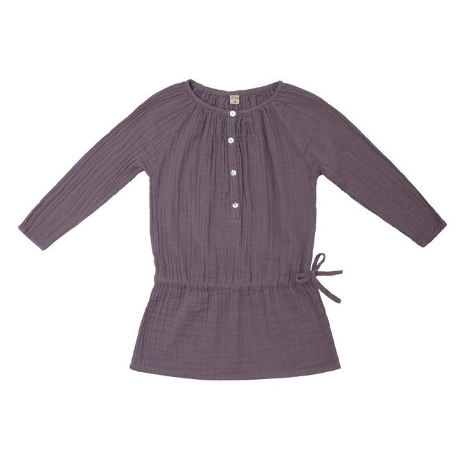Sukienka dziecięca Naia zgaszony fiolet - Numero 74