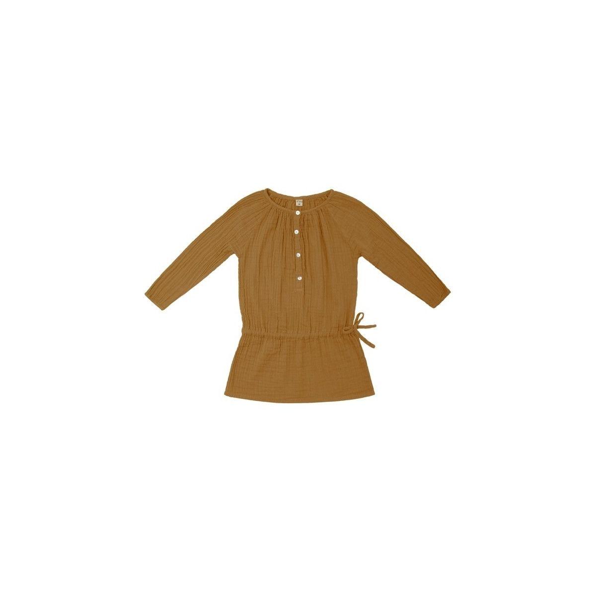 Numero 74 - Naia Dress Kid gold - 1