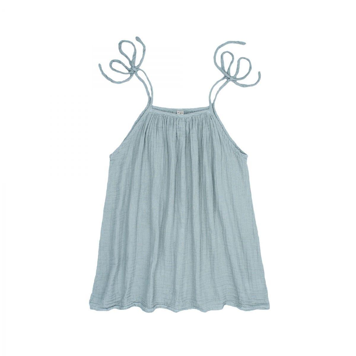 Numero 74 - Mia Short Dress Mum sweet blue - 1