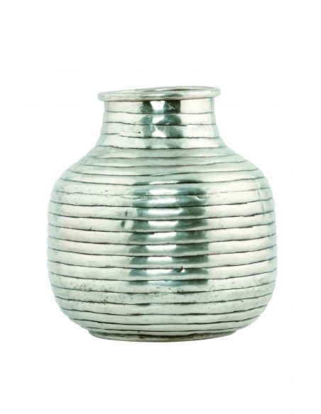 House Doctor - Vase Vertical silver small - 3
