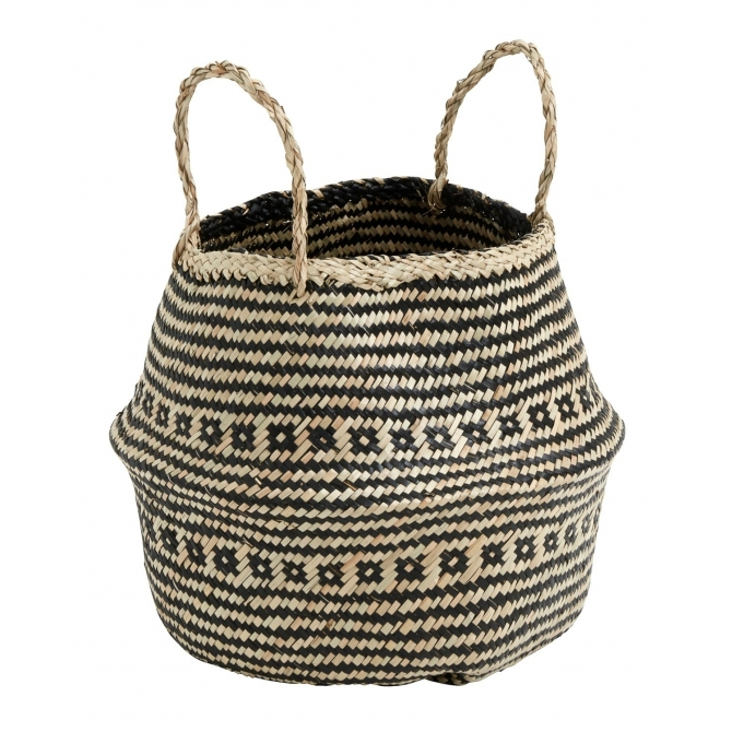 Nordal Cozy basket w. handle small
