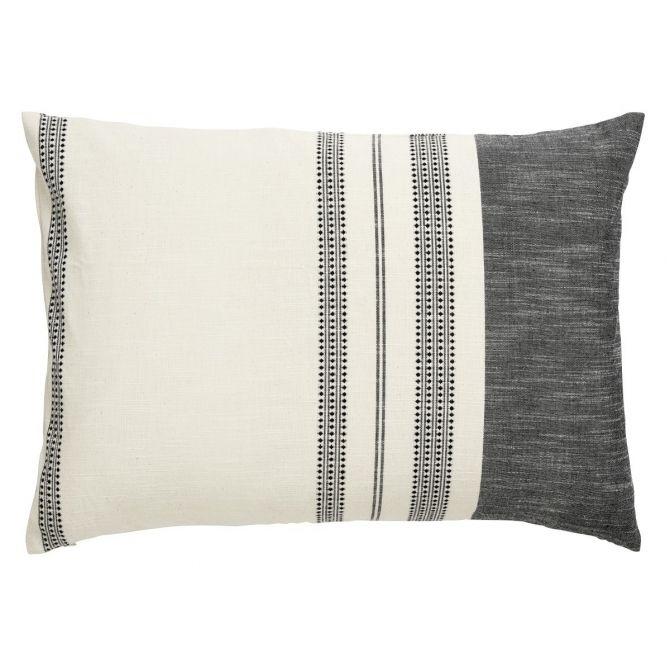 Nordal Poszewka na poduszkę, kolor off white, w pasy