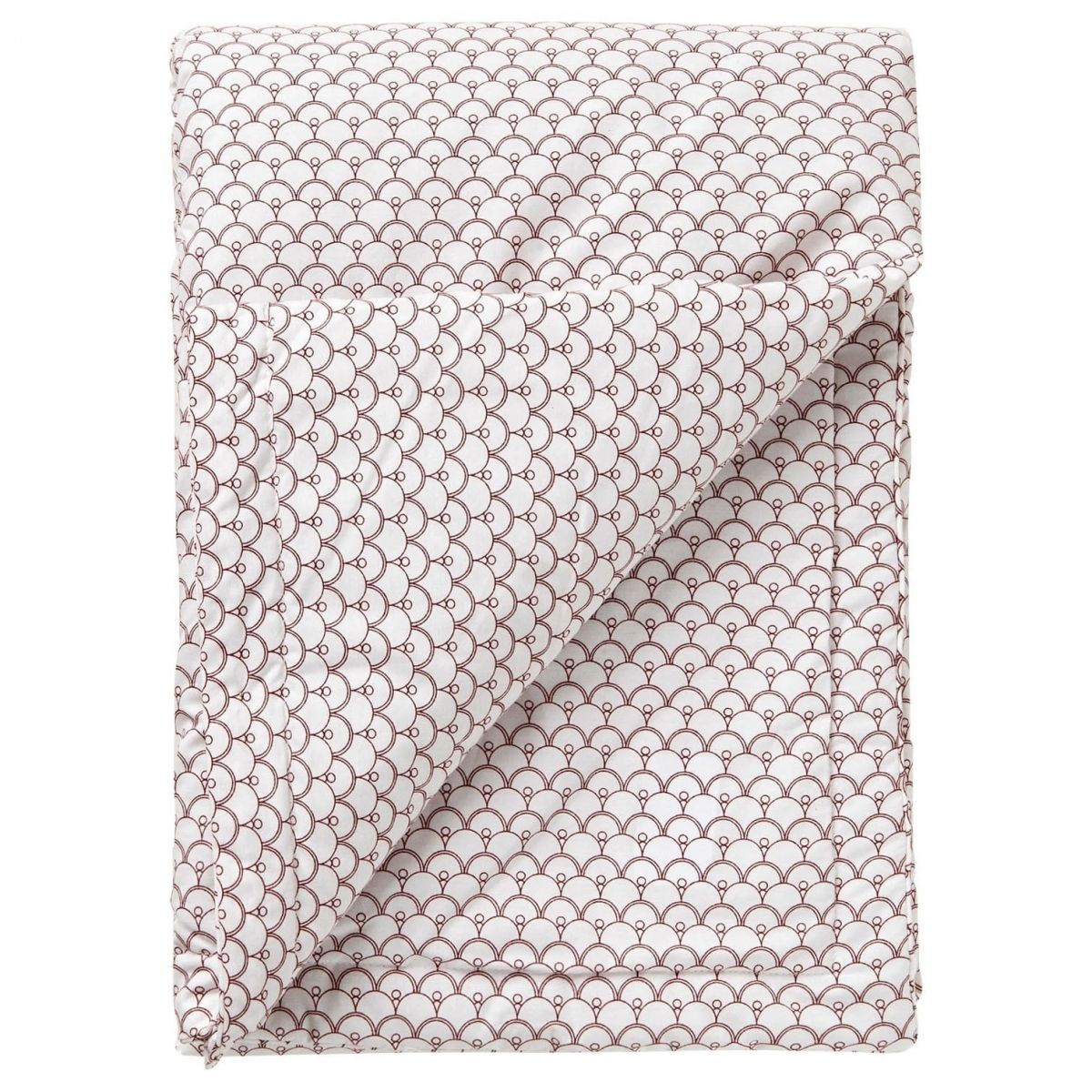 Cupola Rust Filled Blanket white - Garbo & Friends