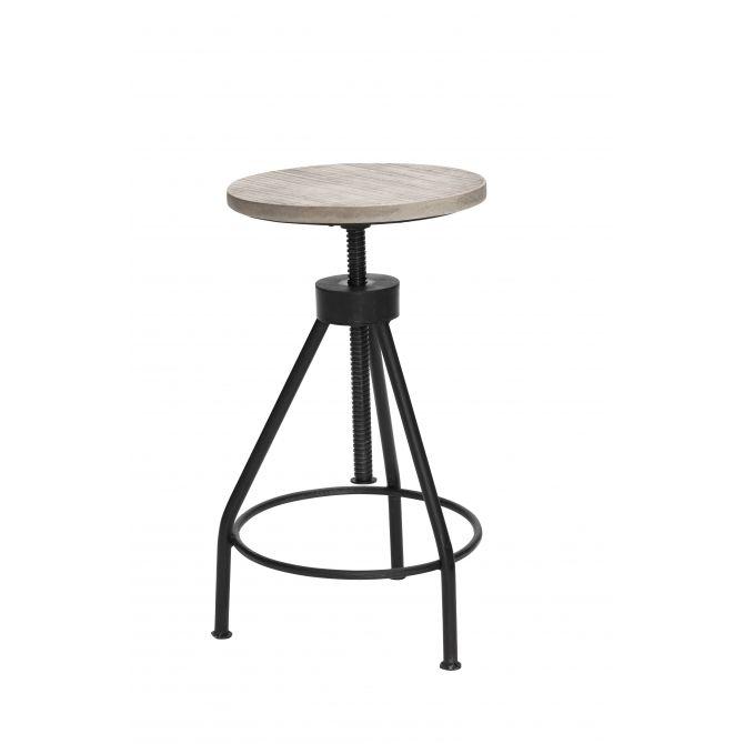 Depot coll. stool black - Lene Bjerre
