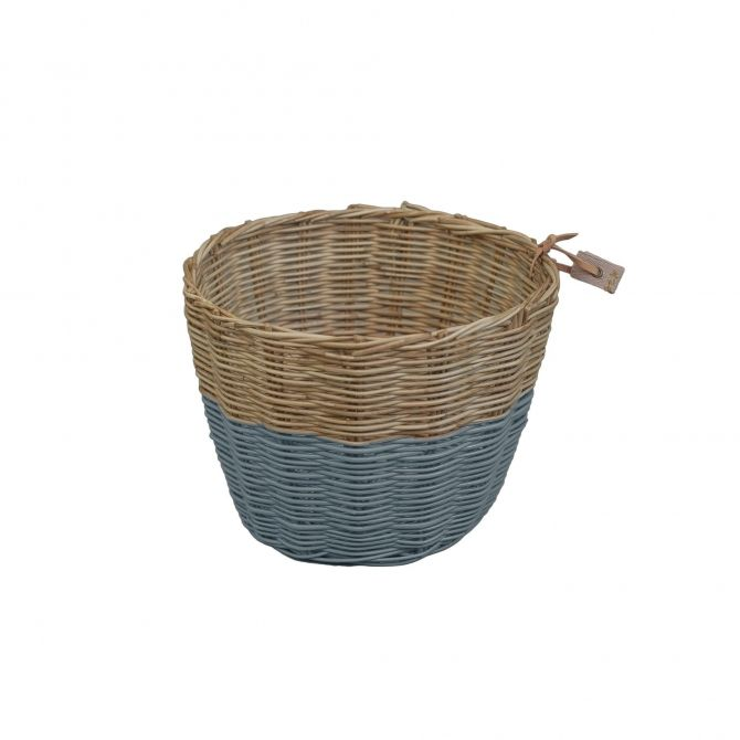 Basket Rattan ice blue - Numero 74