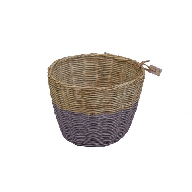 Basket Rattan dusty lilac - Numero 74