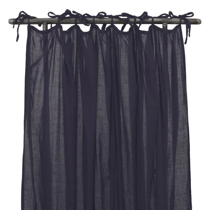 Gathered Curtain sweet aubergine - Numero 74