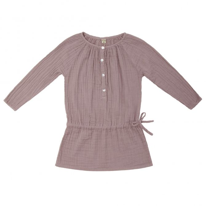 Naia Dress Kid dusty pink - Numero 74