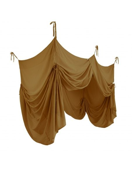 Bed Canopy Drape gold - Numero 74