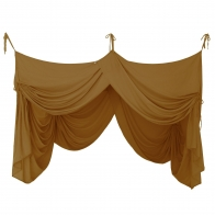 Bed Canopy Drape gold