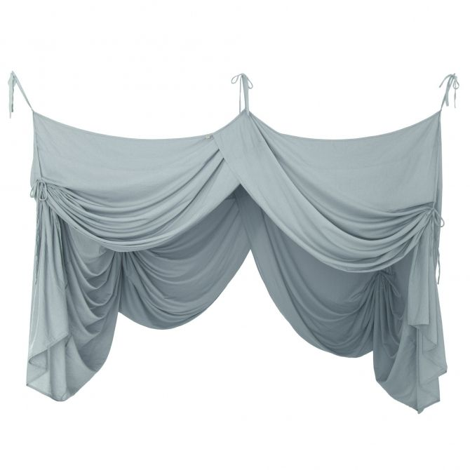 Numero 74 Bed Canopy Drape sweet blue