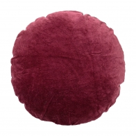 Cushion red cotton