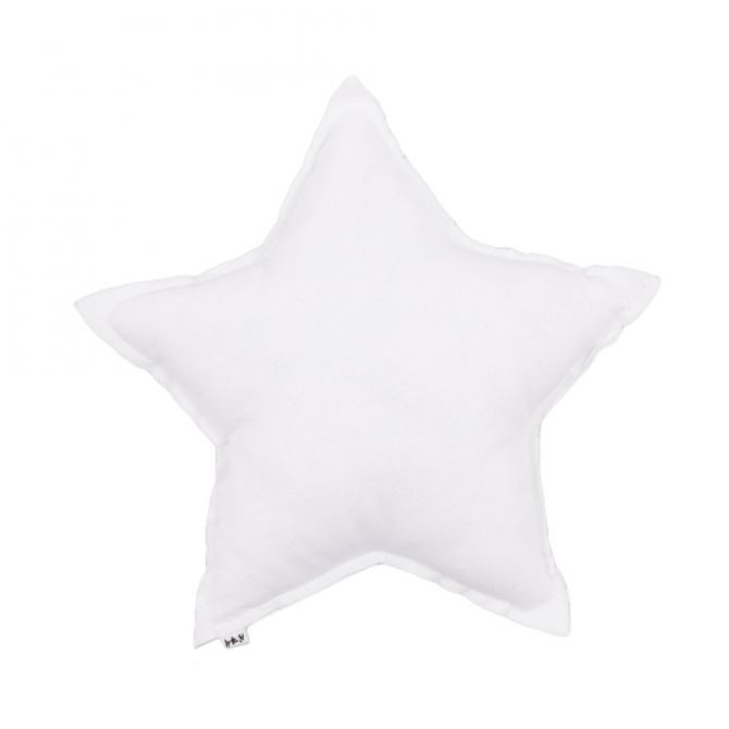 Poduszka gwiazda biała - Numero 74