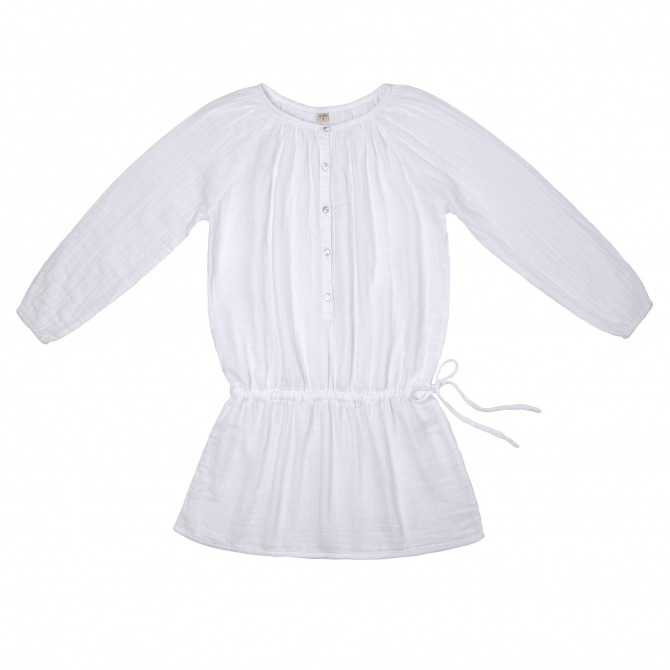 Naia Dress Mum white - Numero 74