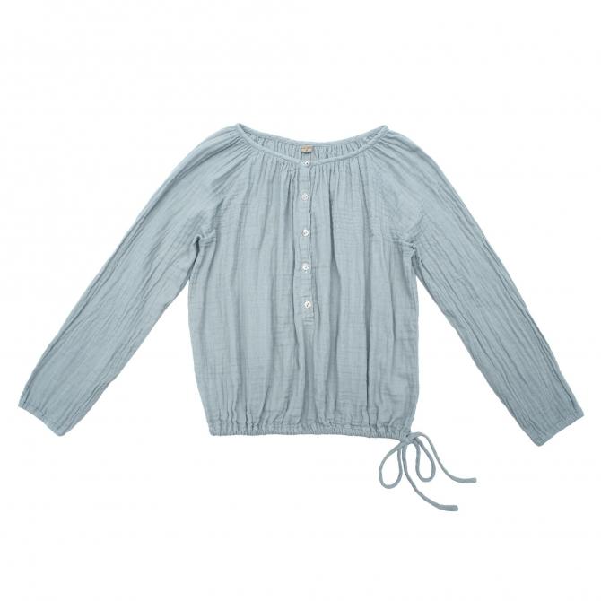 Numero 74 Bluzka dla mam Naia zgaszony błękit