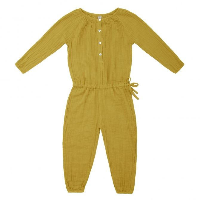 Naia Jumpsuit Kid sunflower yellow - Numero 74