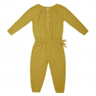 Naia Jumpsuit Kid sunflower yellow