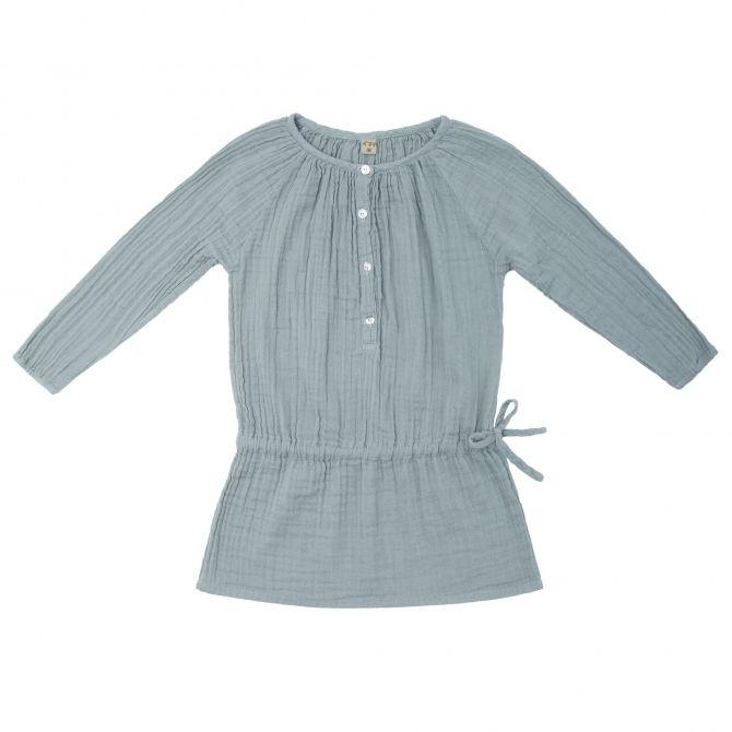 Sukienka dziecięca Naia zgaszony błękit - Numero 74