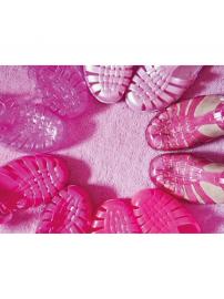 Meduse Sandały Fuchsia różowe