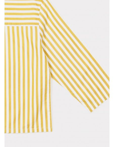 Bluzka Inari żółte paski - Caramel